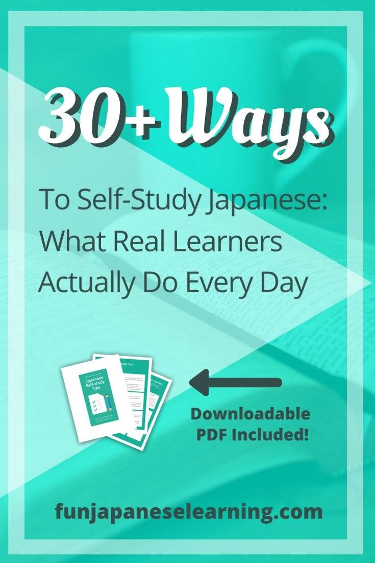Japanese, self-study Japanese, self study Japanese, how to learn Japanese, how to self study Japanese