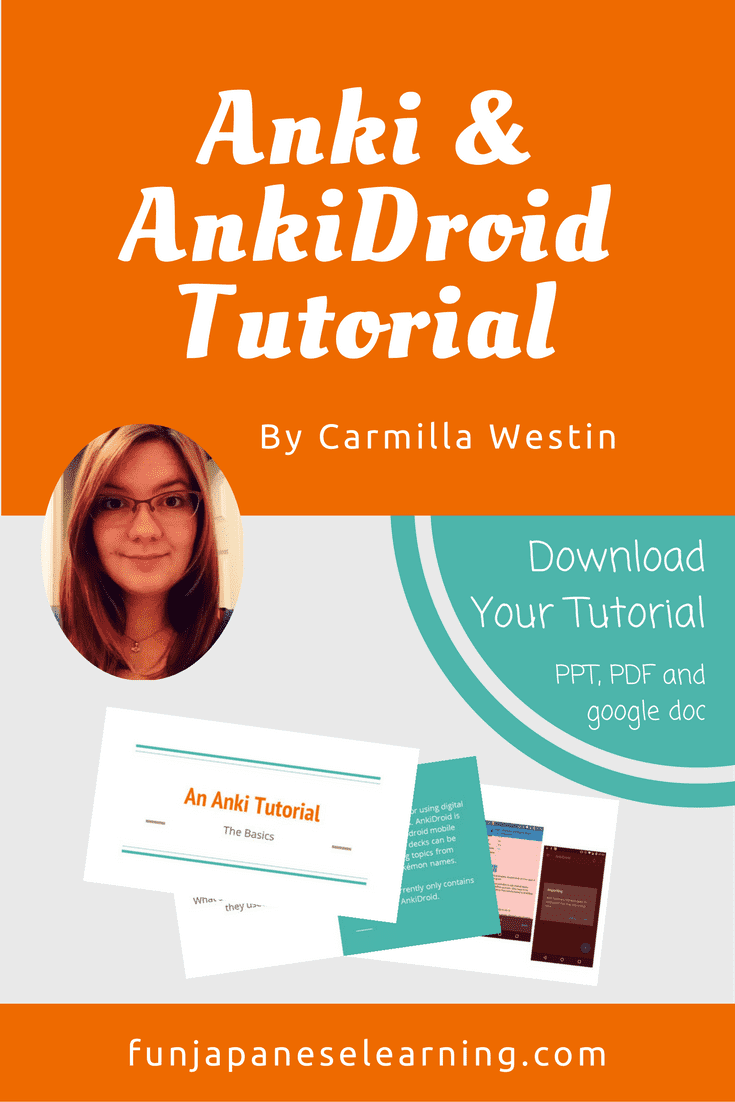 Anki and AnkiDroid tutorial for Japanese learner